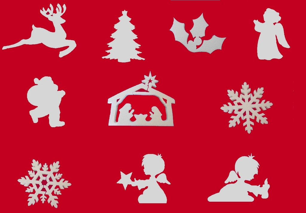 Addobbi natalizi per negozio ufficio e casa poliplast srl for Oggetti x la casa