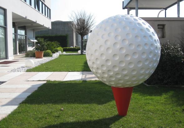 Lavorazioni in polistirolo palle da golf in polistirolo for Scenografie in polistirolo