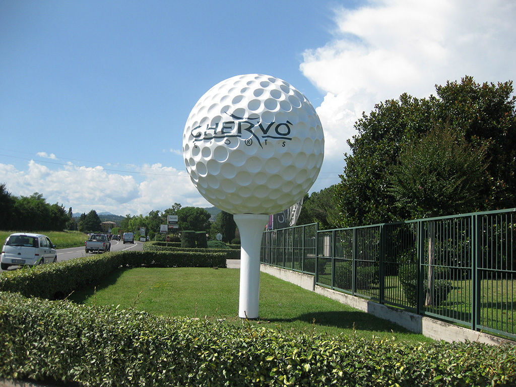 pallina da golf in polistirolo chervo mini