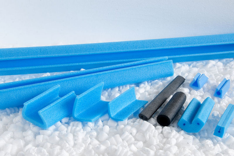 Expanded polyethylene corner protections