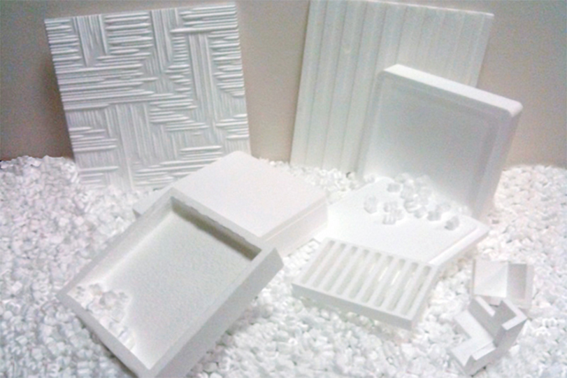 Milled in polystyrene boxes